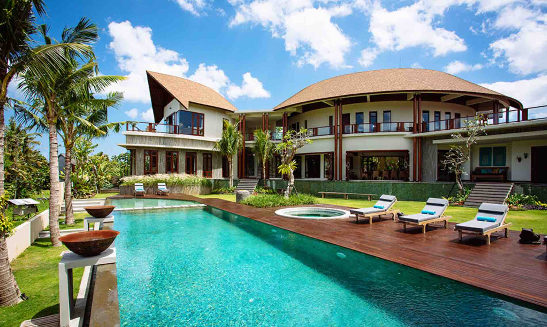 where to stay in bali - villa umah daun, umalas