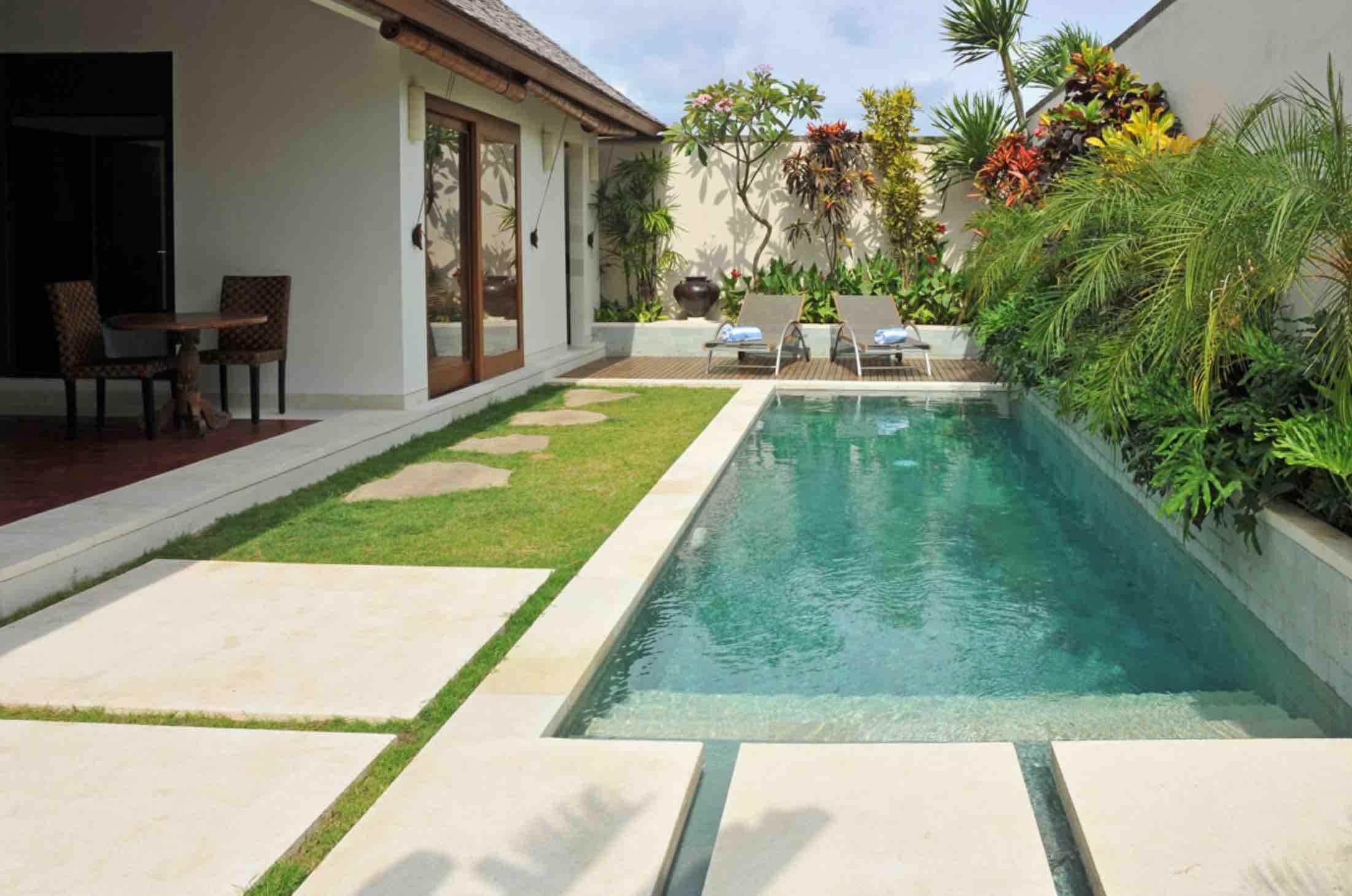 canggu villas for couples - villa saba arjuna