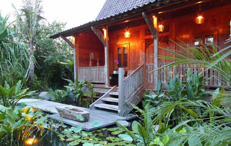romantic holiday villas in Canggu - villa dea radha