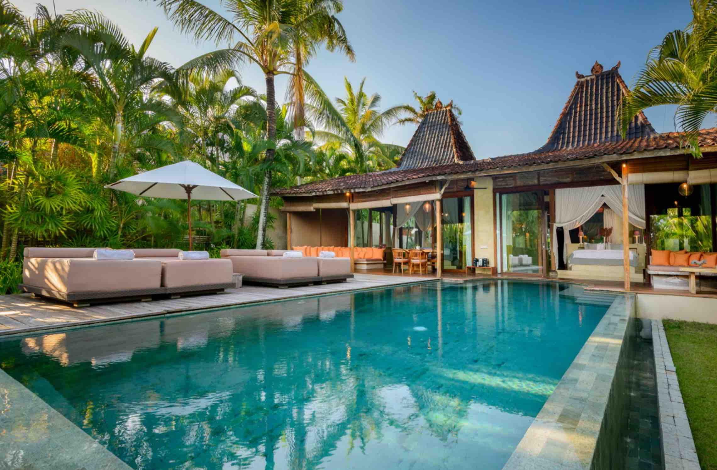 canggu villas for couples - villa cantik