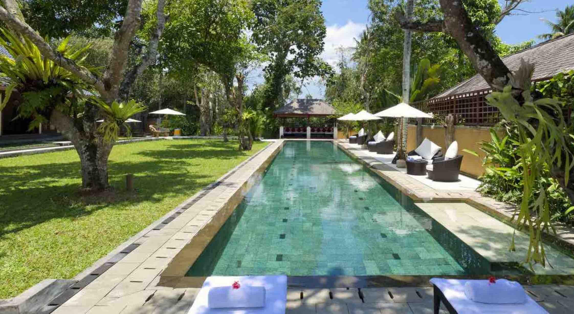 villa san in ubud - where to stay in bali